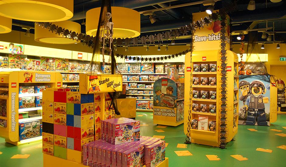 Butiksdekoration legetøj
