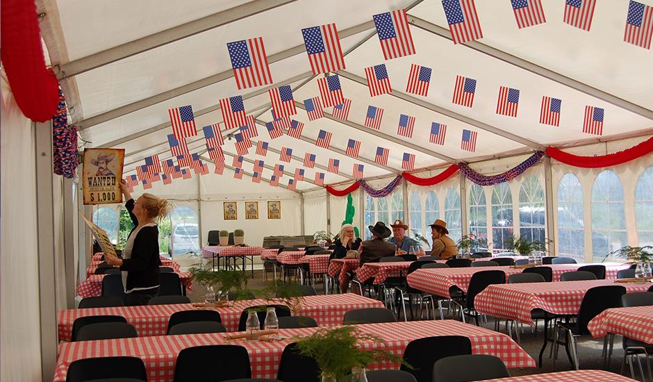 Temafest inspireret af USA