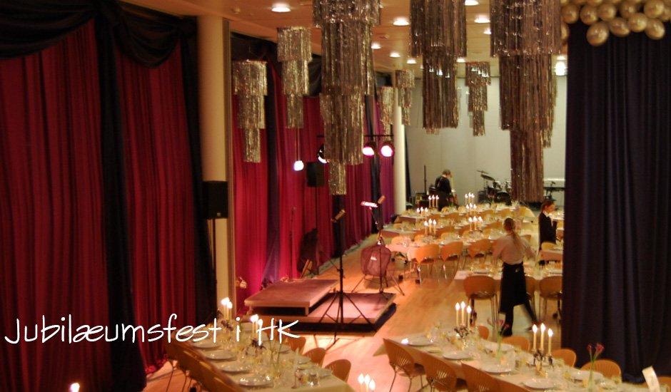 Firmafest dekoration