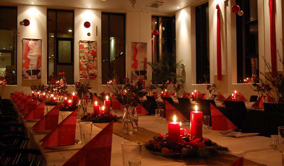 Temafest med julestemning